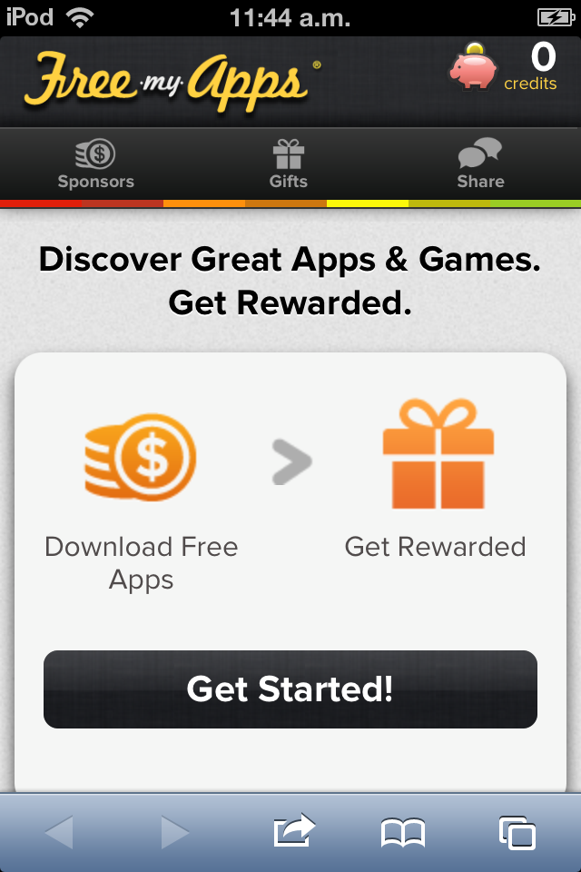 FreeMyApps - compatible con iOS y Android: win 5000 credits